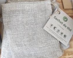Sachet de thé réutilisables - Un Monde en Vrac - Marennes