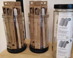 Brosse à dents bois de hêtre rechargeable - Un Monde en Vrac - Marennes
