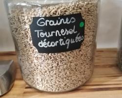 Graines de Tournesol décortiquées - Un Monde en vrac - Marennes