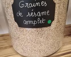 Graines de sésame complet Bio - Un Monde en Vrac - Marennes